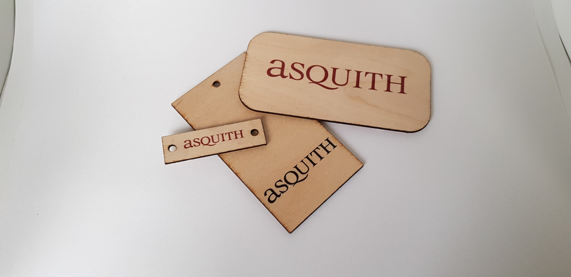 Wooden Labels - Asquith Group